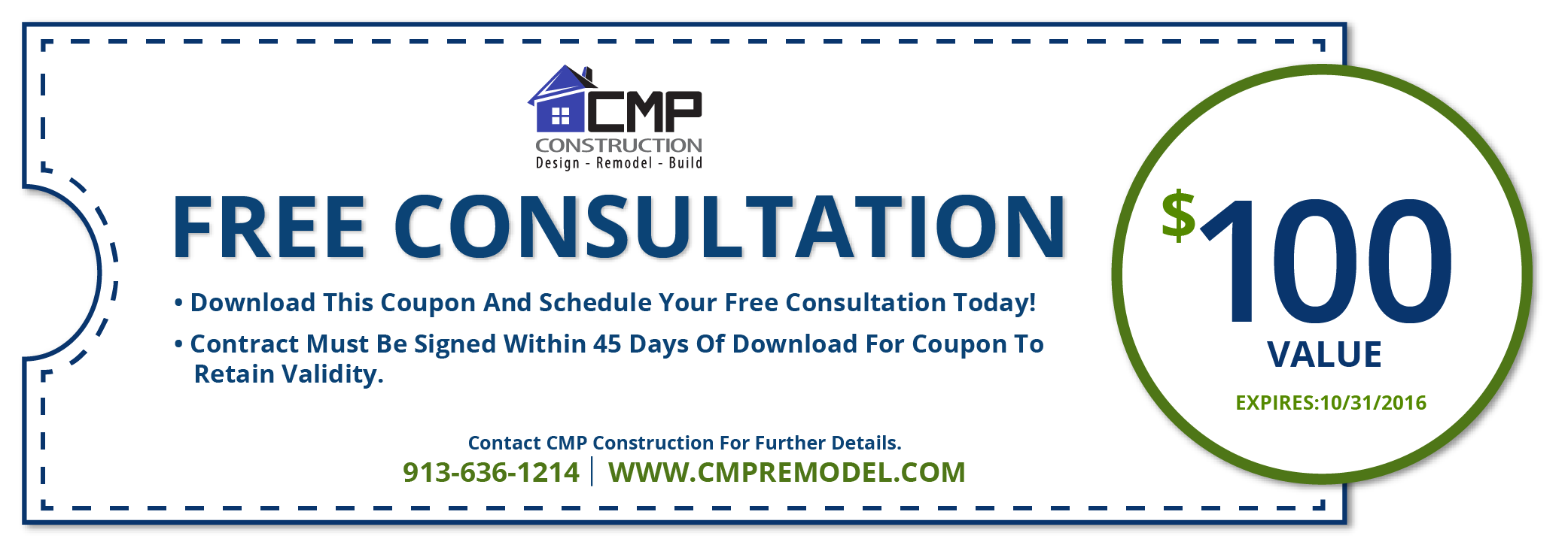 Home Remodeling Special Offers Olathe Ks Cmp Construction